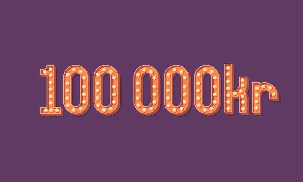 Vann 5000 euro utöver spelvinsterna–åker på shoppingresa