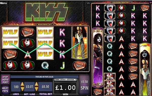 Free kiss slot machine online