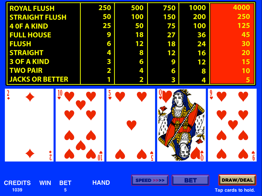 video-poker-poker
