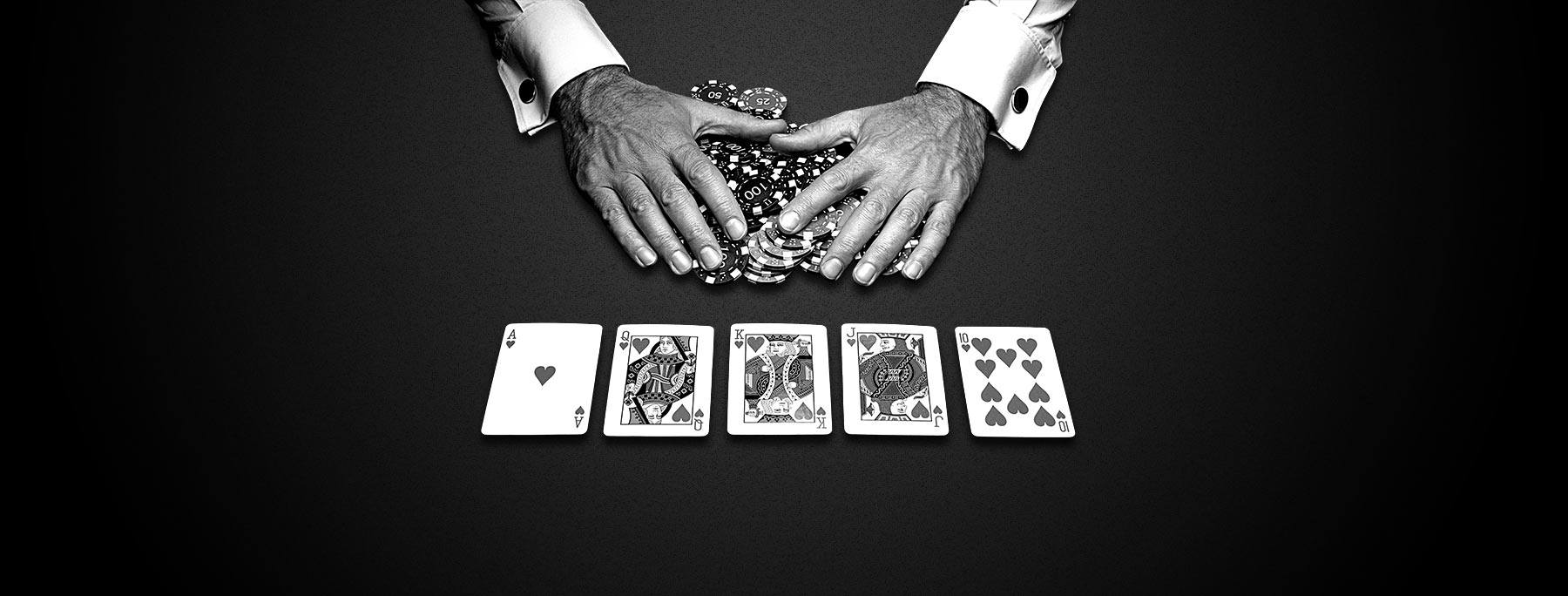poker-blak-and-white