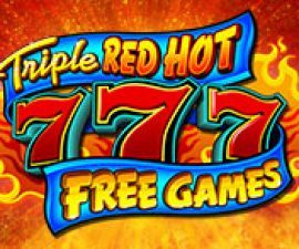 Triple red hot free logo