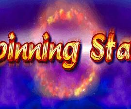 Spinning stars logo