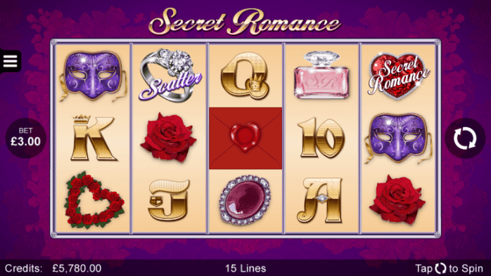 Bli förälskad i Secret Romance hos Casumo