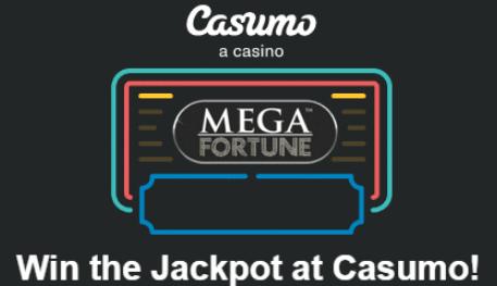 Casumo casino jackpot mega fortune