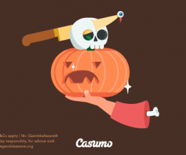 Halloweendags – även på casumo