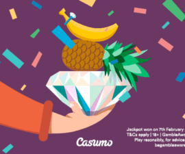 Mega fortune dreams betalar ut på casumo casino
