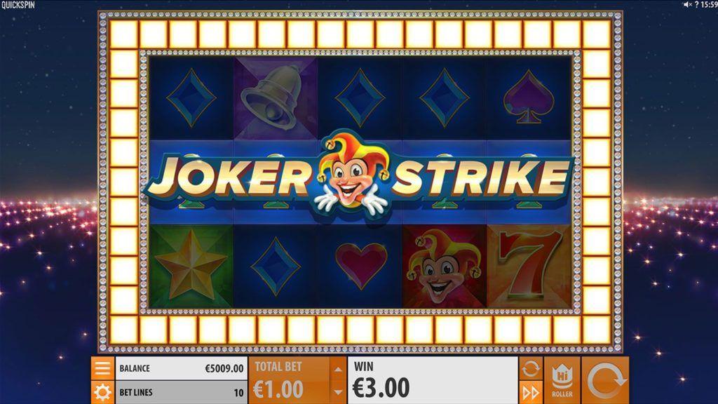 Casumo Joker Strike