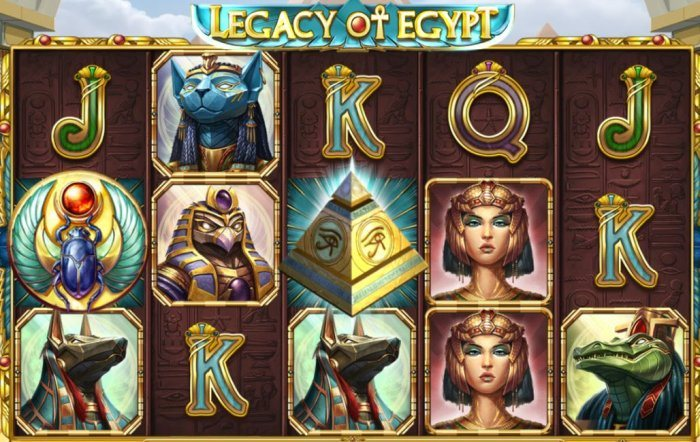 Casumo Legacy of Egypt